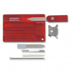 0.7200.T Швейцарская карточка Victorinox SwissCard Quattro Ruby