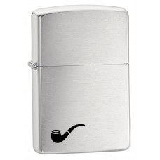 Zippo 200PL Pipe Lighter Brushed Chrome