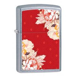 Зажигалка Zippo 28849 Red Boho Flowers