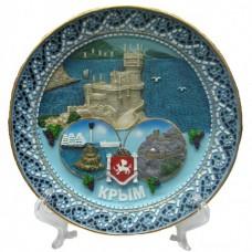 Тарелка Крым №072