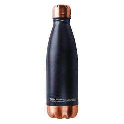 Термос-бутылка Asobu Central park (0,51 литра) черная/медная