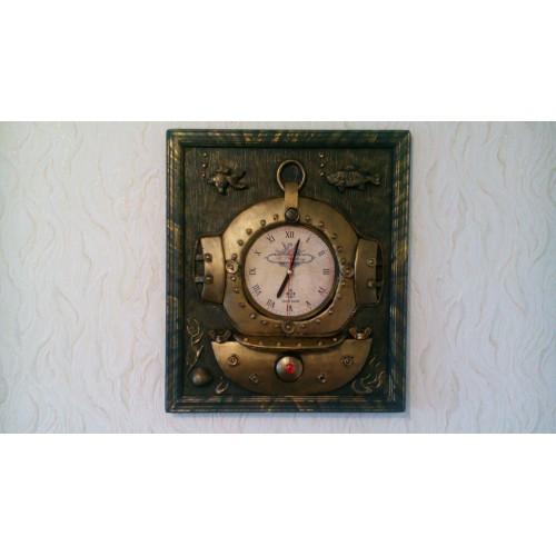 Часы в стиле стимпанк Водолаз