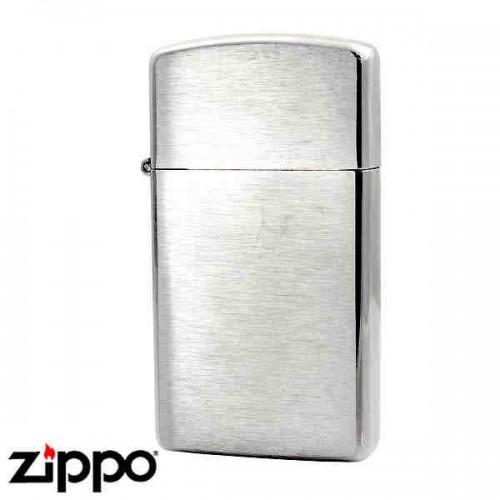 Зажигалка Zippo 1600 Slim Brushed Chrome