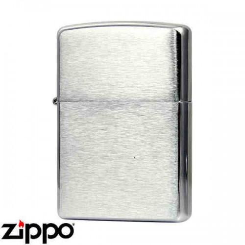 Зажигалка Zippo 200 Brushed Chrome