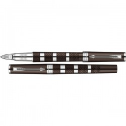 Ручка 5th элемент Parker Ingenuity Brown Rubber&Metal CT S0959180