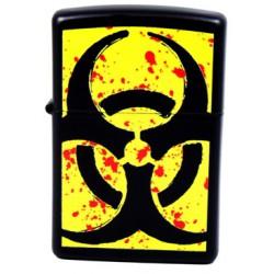 Zippo 24330 Hazardous Black Matte