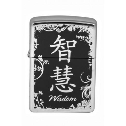 Зажигалка Zippo 28066 Chinese Symbol Wisdom