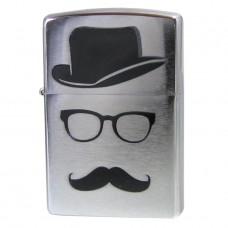 Zippo 28648 Moustache & Hat
