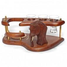 Мини-бар (водочный поднос) Мамонт
