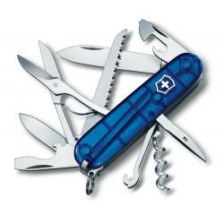 1.3713.T2 Нож Victorinox Huntsman полупрозрачный синий