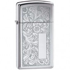 Zippo 1652 Slim Venetian High Polish Chrome
