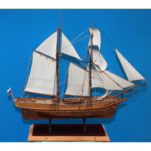 Модель корабля Шхуна