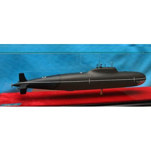 Модель подводной лодки-Атомная  подводная  лодка  АПЛ пp.705К