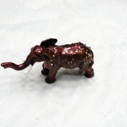 Шкатулка со стразами Слон 2394