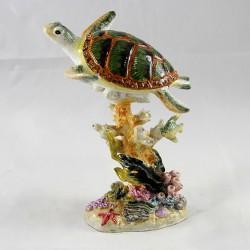 Шкатулка со стразами Черепаха 1843
