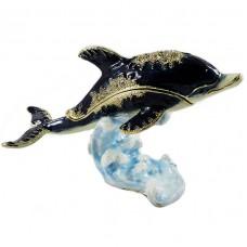 Сувенир шкатулка Дельфин 438