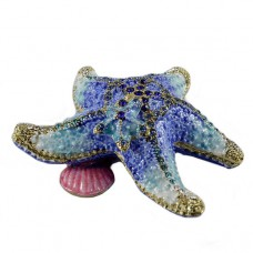 Шкатулка со стразами Морская звезда 1492
