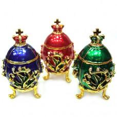 Сувенир шкатулка Яйцо Фаберже 713