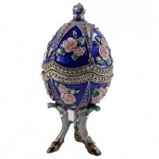Шкатулка Яйцо 1170 музыкальная