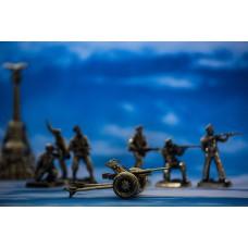 """Пушка """"Сорокопятка"""" Советская армия"""