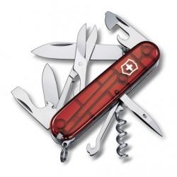 1.3703.T Нож Victorinox Climber полупрозрачный красный