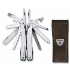 3.0223.L Нож Victorinox  Swiss Tool  в кожаном чехле