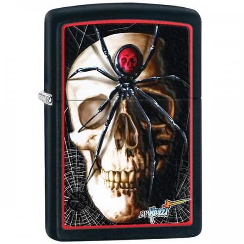 Зажигалка Zippo 28627 Mazzi Spider&Skull