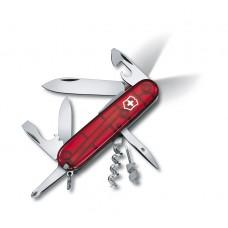 1.7804.T  Нож Victorinox Spartan полупрозрачный красный