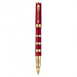 Ручка 5th элемент Parker Ingenuity Red Rubber & Metal GT 1858534