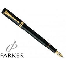 Перьевая ручка Parker Duofold Centennial Black GT S0690330