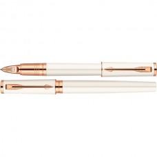 Ручка 5th элемент Parker Ingenuity Slim Pearl PGT S0959050