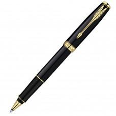 Ручка-роллер Parker Sonnet Black Lacquer GT S0808720