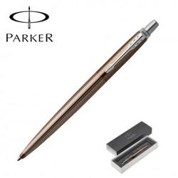 Шариковая ручка Parker Jotter Premium Carlisle Brown Pinstripe CT 1953201