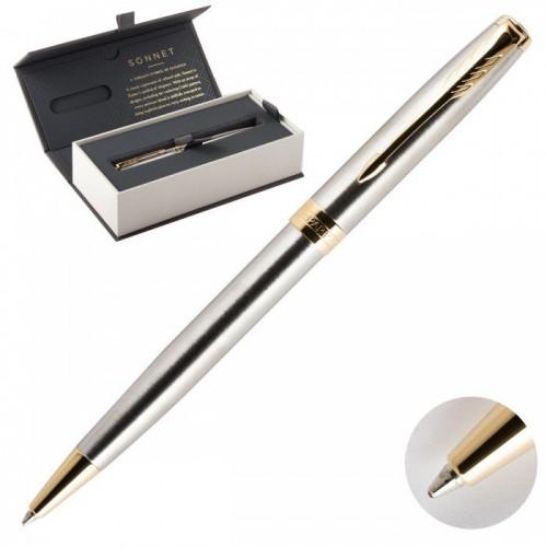 Шариковая ручка Parker Sonnet Core Stainless Steel GT 1931507