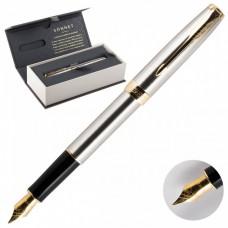 Перьевая ручка Parker Sonnet Stainless Steel GT 1931504