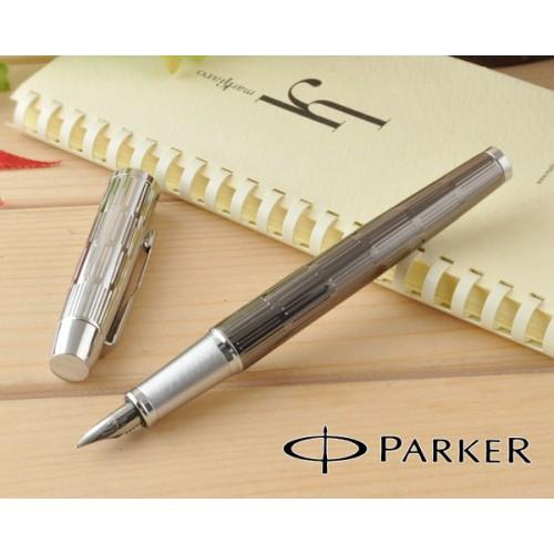Перьевая ручка Parker IM Twin Chiselled CT S0908590