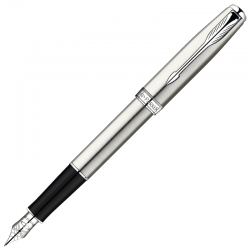 Перьевая ручка Parker Sonnet Stainless Steel CT S0809210