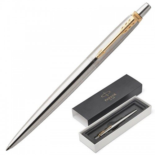 Шариковая ручка Parker Jotter Core Stainless Steel GT 1953182