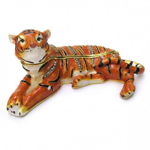 Шкатулка Тигр лежит BP772K1