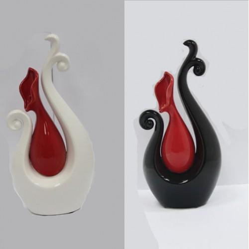 Ваза декор керамика 1193