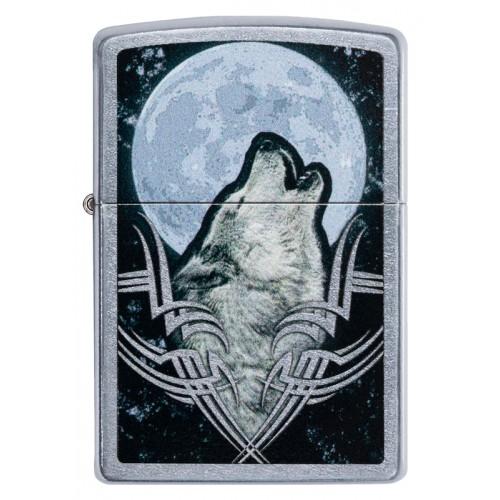 Зажигалка Zippo 49261 Howling Wolf