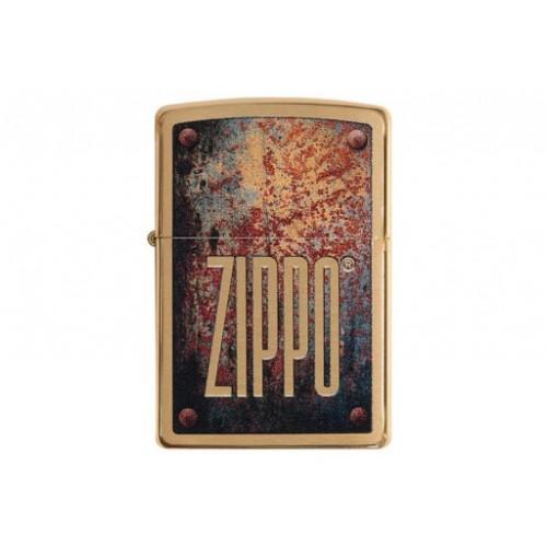Zippo 29879 Rusty Plate Design
