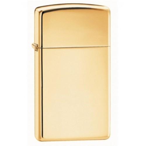 Zippo 1654B Slim High Polish Brass