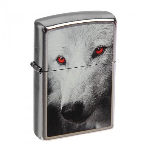 Zippo 28877 Red Eye Wolf