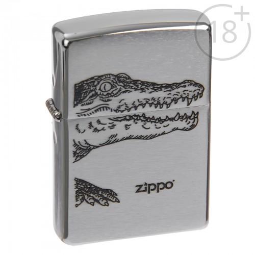 Зажигалка Zippo 200 Alligator с логотипом