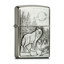 Zippo 20855 Timberwolves emblem
