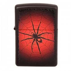 Zippo 218 Red Web